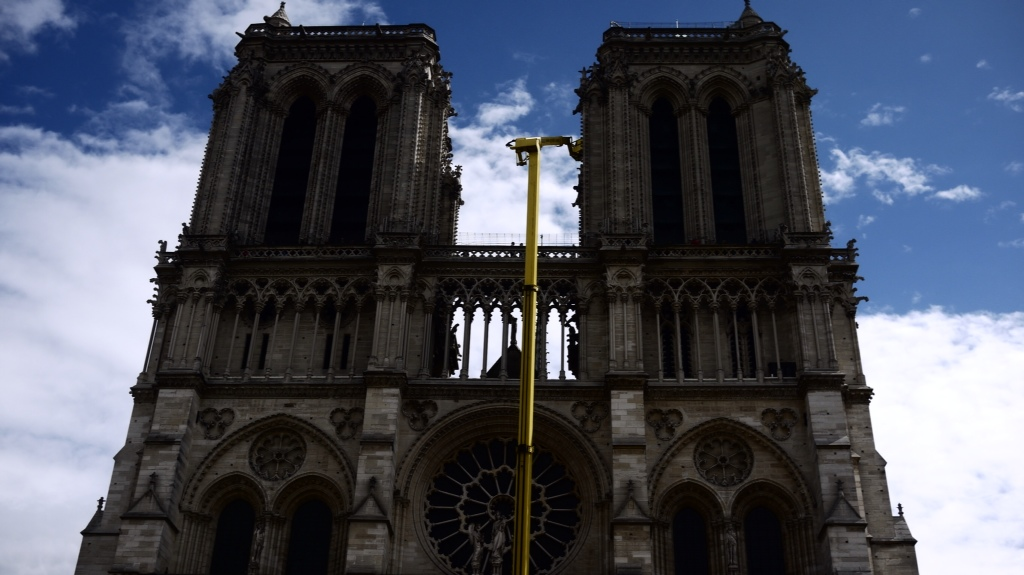 Notre-Dame under repair?